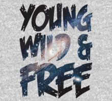 Young Wild and Free One Piece - Long Sleeve