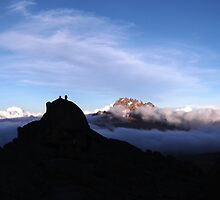 Mawenzi Summit on Mount Kilimanjaro. Earthporn.  by RustyBramble