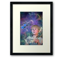 Master of the Universe Framed Print