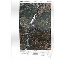 USGS Topo Map Washington State WA Elwha 20110509 TM Poster