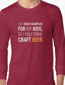 Craft Beer Long Sleeve T-Shirt