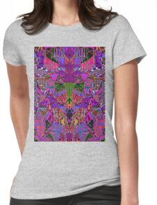 0317 Abstract Thought Womens Fitted T-Shirt
