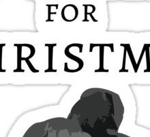 Christmas Coal Sticker
