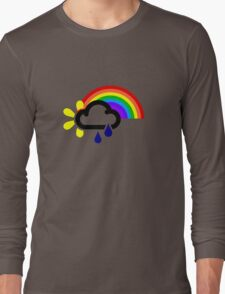 A chance of rainbows Long Sleeve T-Shirt
