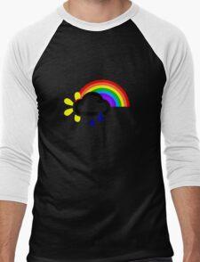 A chance of rainbows Men's Baseball ¾ T-Shirt