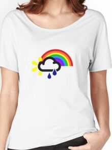 A chance of rainbows Women's Relaxed Fit T-Shirt