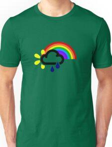 A chance of rainbows Unisex T-Shirt