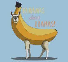 Bananas About Llamas! Kids Clothes