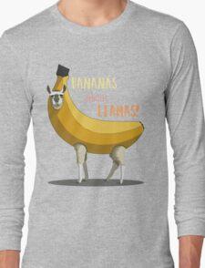 Bananas About Llamas! Long Sleeve T-Shirt