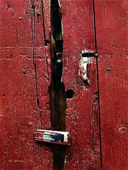 Battered Barn Door by RC deWinter