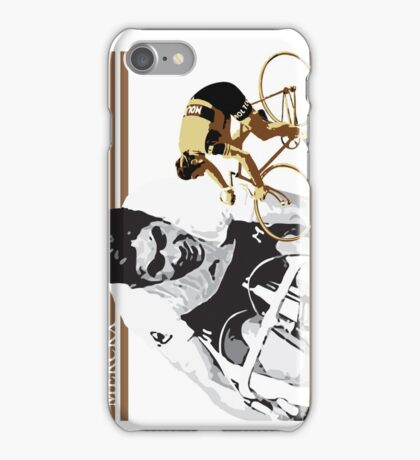 vintage poster EDDY MERCKX: the cannibal iPhone Case/Skin