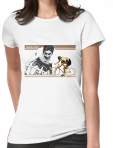 vintage poster EDDY MERCKX: the cannibal Womens Fitted T-Shirt