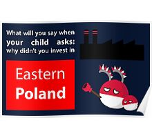 Invest in eastern Poland  Poster