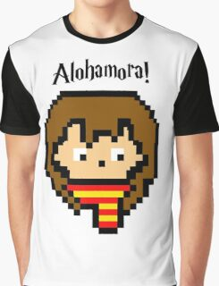 Pixel Hermione Graphic T-Shirt