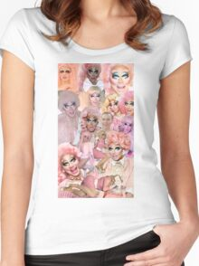 Rupaul's Drag Race Trixie Mattel Women's Fitted Scoop T-Shirt