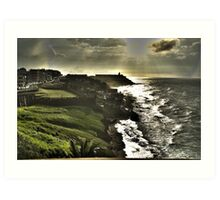 North Old San Juan Art Print