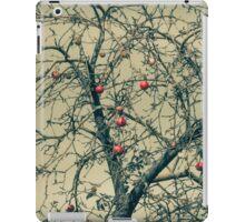 Red Apples in Empty Garden iPad Case/Skin