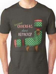 Christmas Crackers About Alpacas! T-Shirt