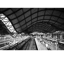 Southern Cross Station Melbourne Photographic Print