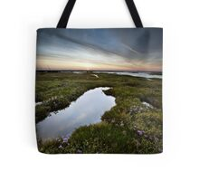 Salt Marsh Sunset Tote Bag
