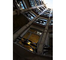 Whimsical, Intricate Antoni Gaudi Architecture  Photographic Print