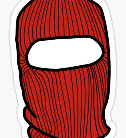 Kanye Ski Mask Sticker