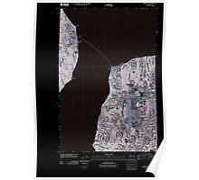 USGS Topo Map Washington State WA Mukilteo 20110422 TM Inverted Poster