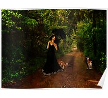 Walking With Nature Poster