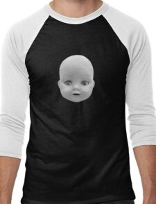 Living Doll Men's Baseball ¾ T-Shirt