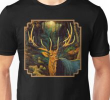 Autumn Majesty - Elk Oil Painting Unisex T-Shirt