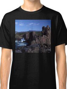 Rock Formations, Bombo Coastline, Australia Classic T-Shirt