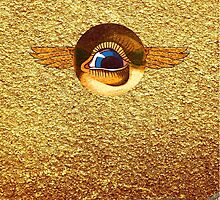 Golden Eye of the Pharaoh by SusanSanford
