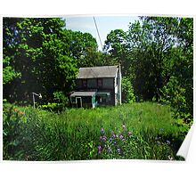Abandoned Cottage Poster