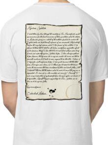 My dear Watson  Classic T-Shirt