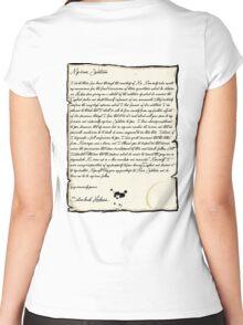 My dear Watson  Women's Fitted Scoop T-Shirt