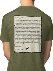 My dear Watson  Tri-blend T-Shirt