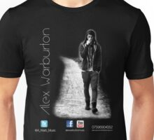 alex warburton music (front with details) Unisex T-Shirt
