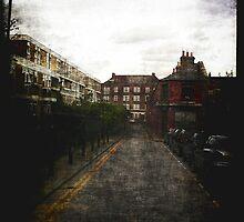 London Street Scene by Benedikt Amrhein