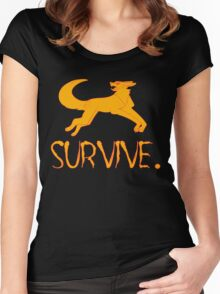 Survive Women's Fitted Scoop T-Shirt