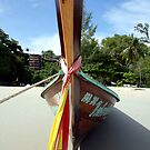 Longtail Boat by Victoria Kidgell