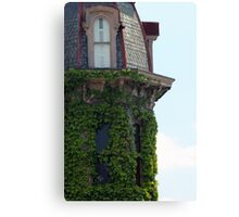Ivy Covered Turret Canvas Print
