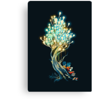 Electricitree Canvas Print