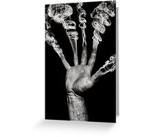 Mystical Hand Greeting Card
