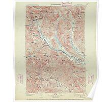 USGS Topo Map Washington State WA Snoqualmie 243839 1903 125000 Poster