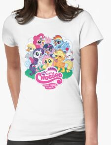 My Little Chocobo Womens Fitted T-Shirt