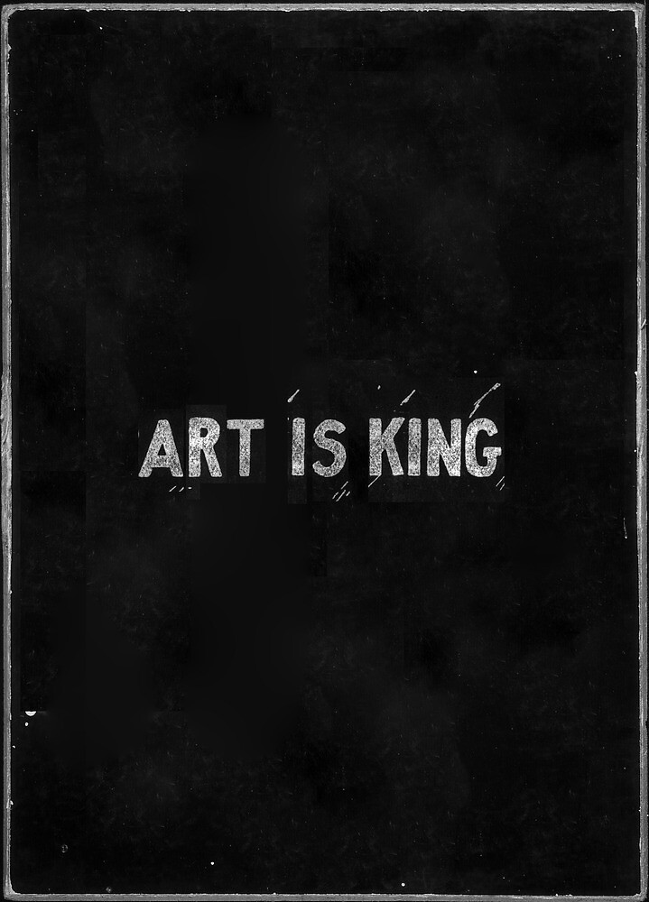 ART IS KING. by Mustapha Kamel