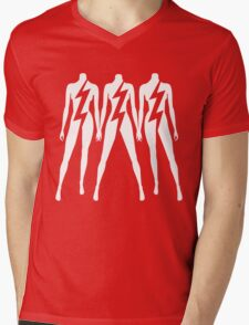 Lady Gaga - Lightning Sisters Mens V-Neck T-Shirt