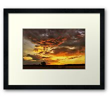 Ghosts of the sun pt.8. Framed Print