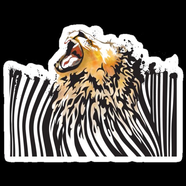 lion barcode by SFDesignstudio