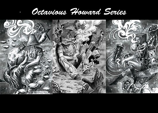 Octavious Howard - the series  by colorblind